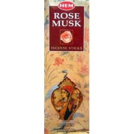 Incienso Rose Musk Hexa Hem