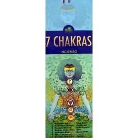 Incienso Neem 7 Chakras
