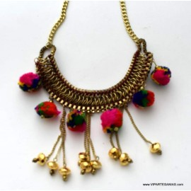 Collar Pom Pom cll 1