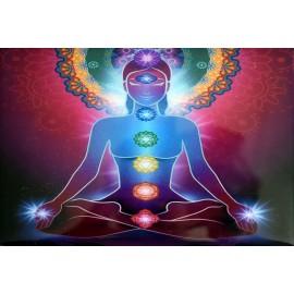 Caja Laminada Buddha chakras