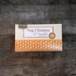 incienso tulasi nag champa series vainilla