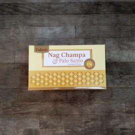 incienso tulasi nag champa series palo santo
