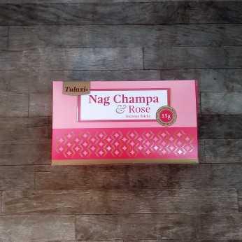 incienso tulasi nag champa rosa