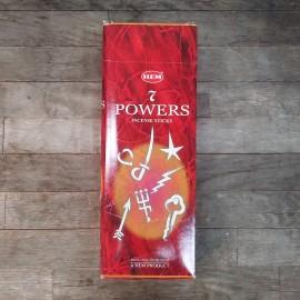 hem hexagonal 7 poderes ( siete poderes)