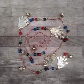 movil cascabeles/manos bronce largo