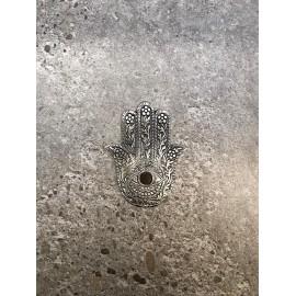 quemador mano de fatima aluminio 13 cm