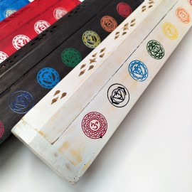 Baul portaincienso 7 chakras color