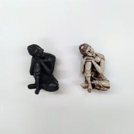 Figura mini buddha descanso