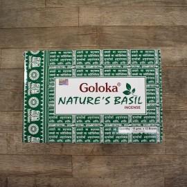 GOLOKA - Incienso Masala Natures Basil
