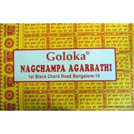 Incienso Goloka Nag Champa 40 grs.