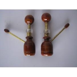 Pipa madera/bronce