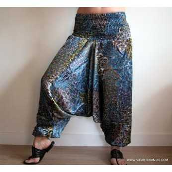 Venta por mayor de R 02 PANTALON AFG. SATEN PAVO REAL