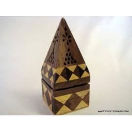 Piramide madera bicolor az 26