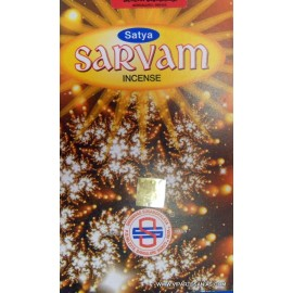 Incienso Sarvam Satya 10 grs.